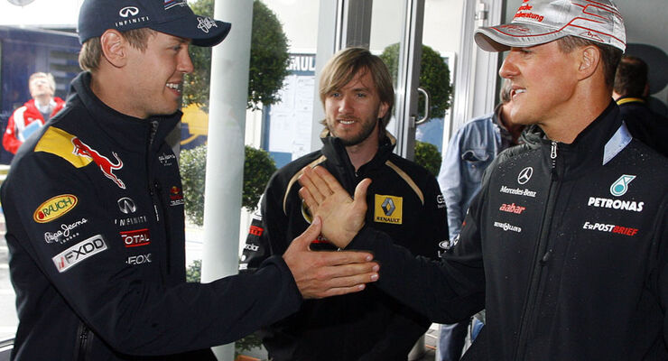Vettel & Schumacher