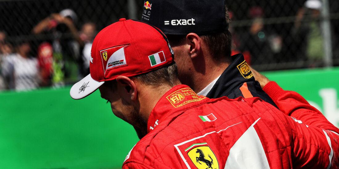 Vettel - Verstappen - GP Mexiko 2017 - Qualifying