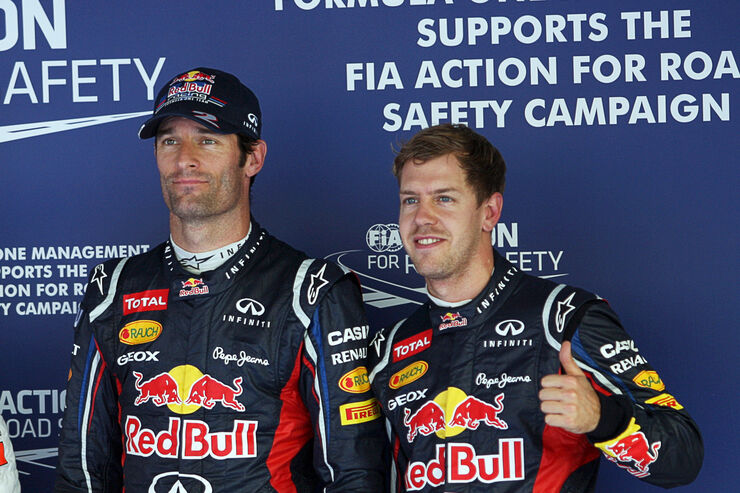 red bull missverst ndnis kostet vettel die pole auto. Black Bedroom Furniture Sets. Home Design Ideas