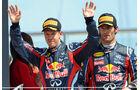 Vettel & Webber