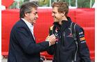 Vettel und Sainz GP Spanien 2011