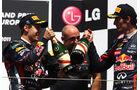 Vettel und Webber GP Europa Valencia 2011