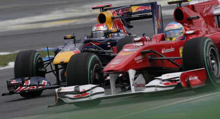 Vettel vs. Alonso