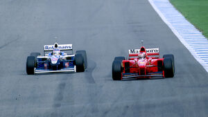 Villeneuve vs. Schumacher - F1-Saison 1997