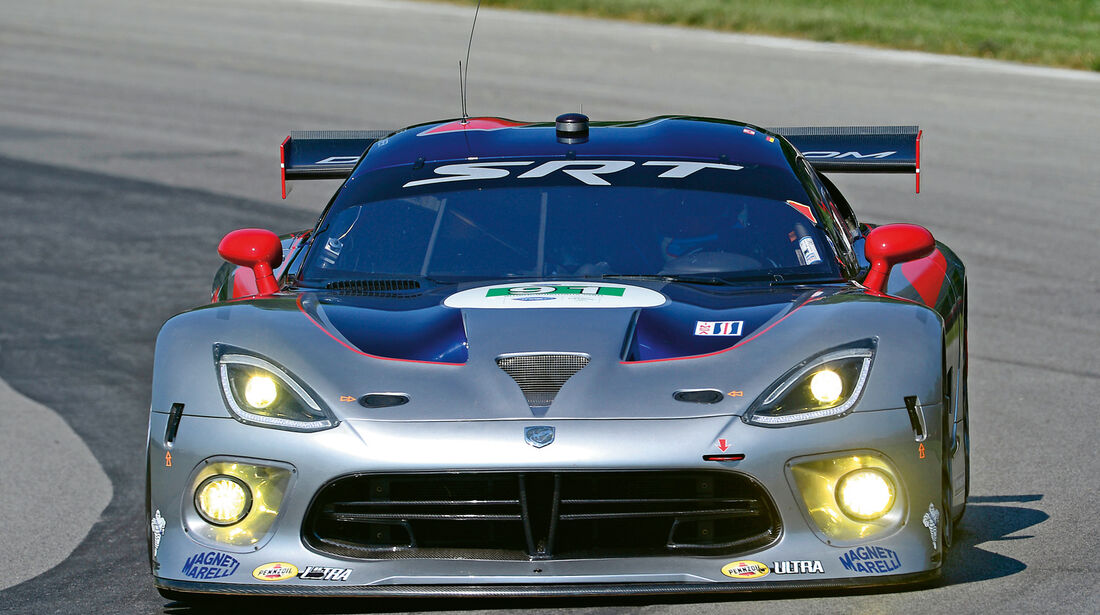 Viper GTS-R, Frontansicht