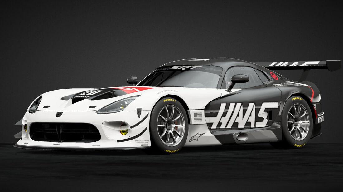 Viper SRT GT3-R im F1-Design - 2019