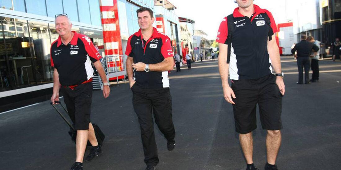 Virgin - GP Italien - Monza - 9. September 2011
