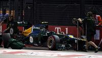 Vitaly Petrov - Caterham - Formel 1 - GP Singapur - 22. September 2012