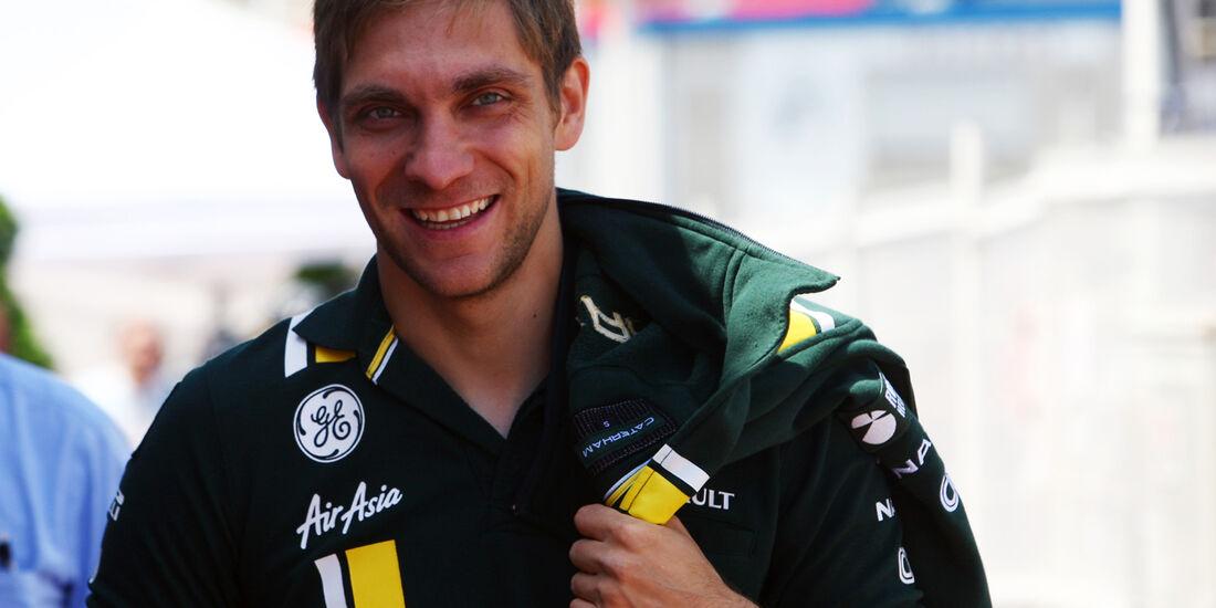 Vitaly Petrov - Caterham - GP Monaco - 23. Mai 2012