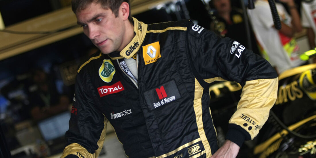 Vitaly Petrov - GP Abu Dhabi - Freies Training - 11. November 2011