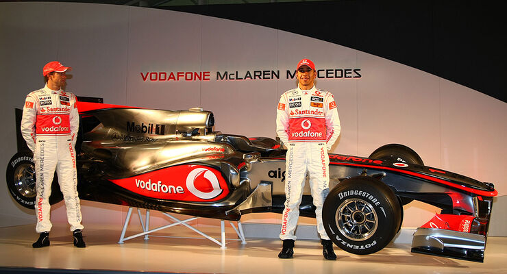 Vodafone McLaren Mercedes MP4-25 Launch