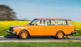 Volvo 240/242/244/245, Seitenansicht