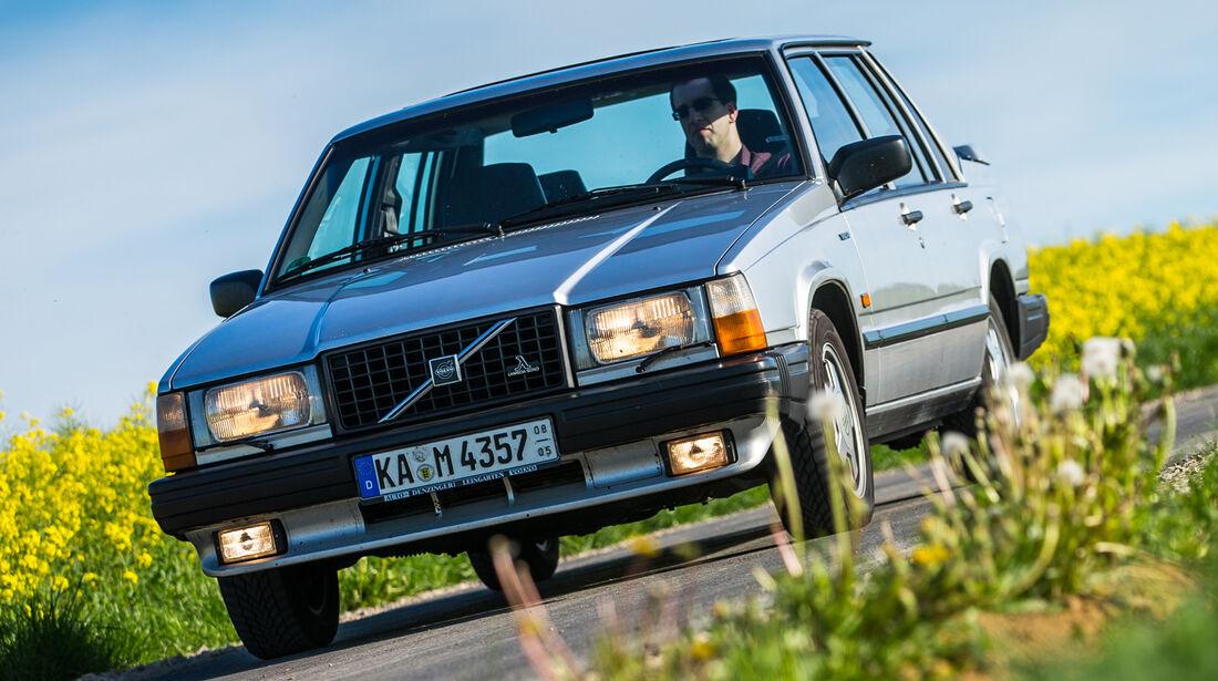 Volvo 740, Frontansicht