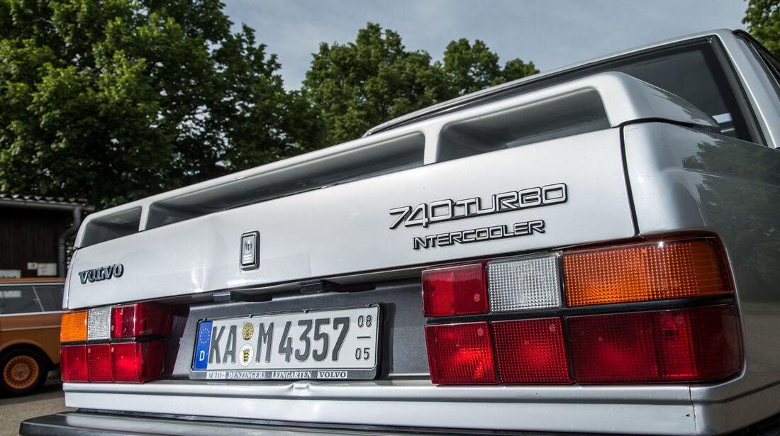 Volvo 740, Heckspoiler