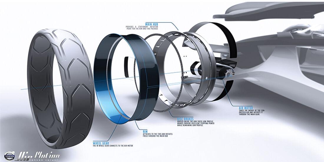 Volvo Air Motion, L.A. Design Challenge, Studie