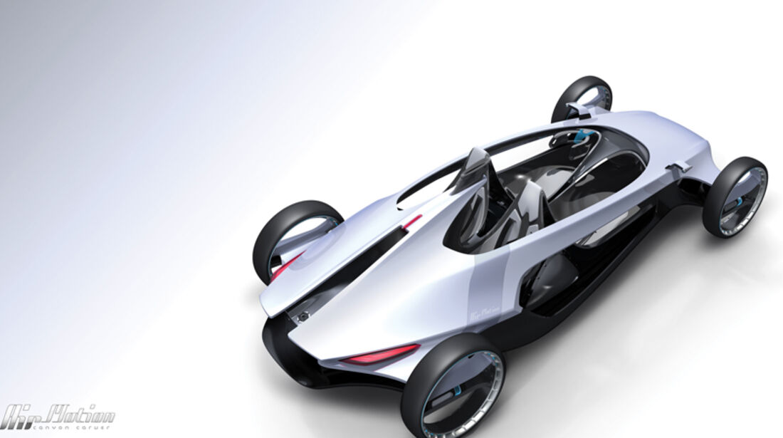 Volvo Air Motion, L.A. Design Challenge, Studie