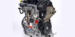 Volvo Dreizylindermotor