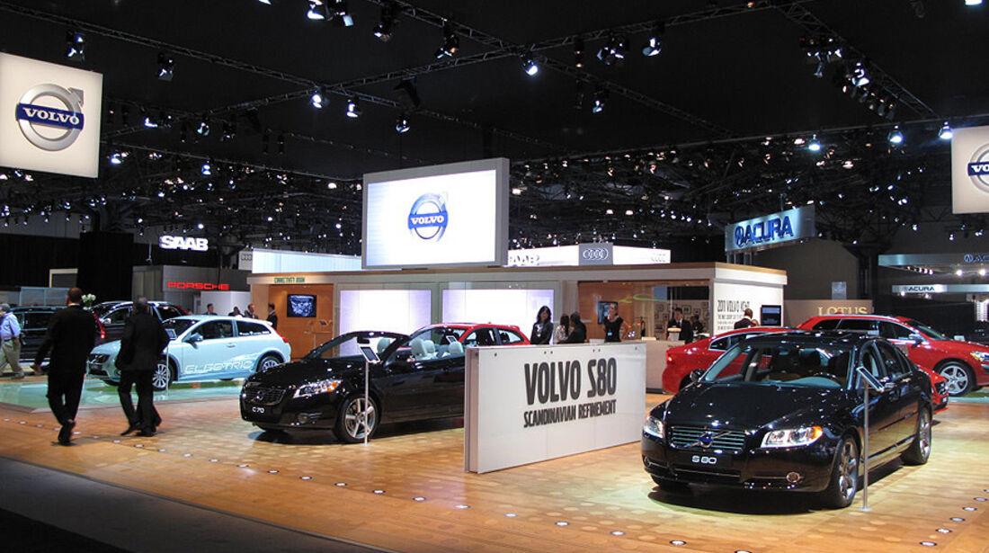 Volvo Messestand