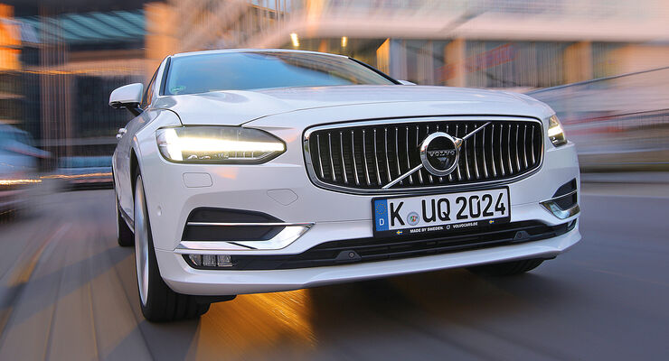 Volvo S90 D5 AWD, Frontansicht