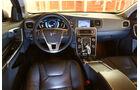 Volvo V60 D6 AWD, Cockpit, Lenkrad