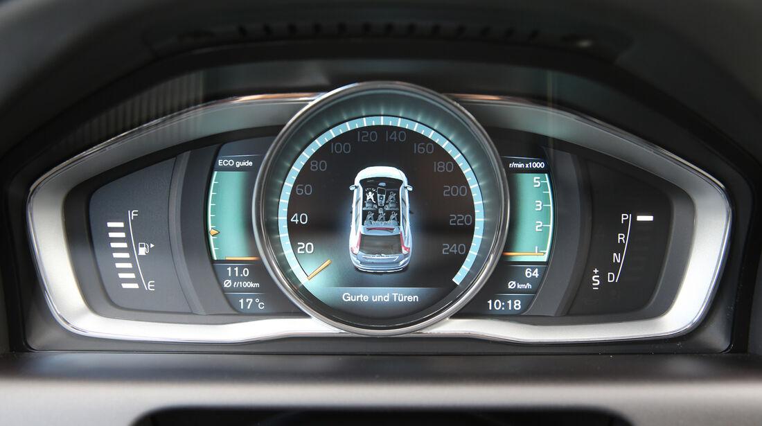Volvo XC 60 D4 AWD, Rundinstrumente