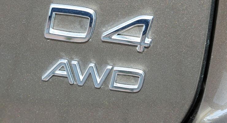 Volvo XC60 D4 AWD, Typenbezeichnung