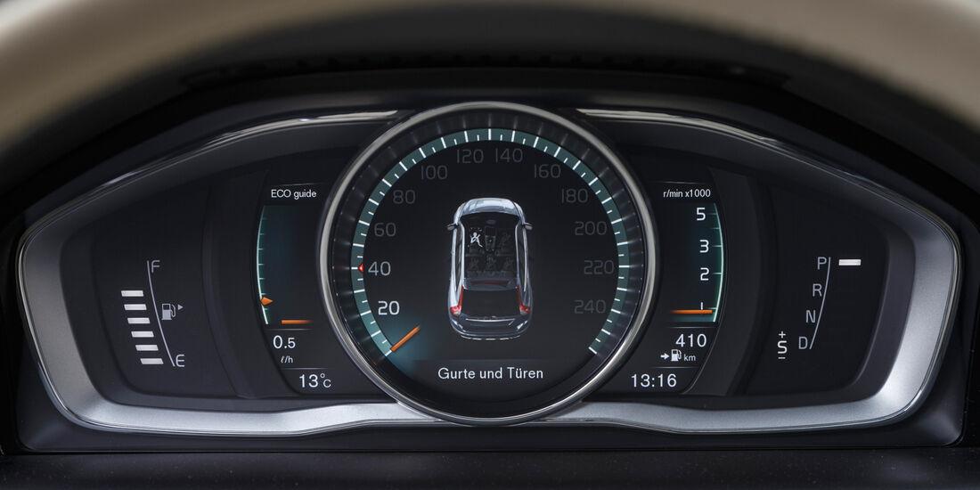 Volvo XC60 D5, Anzeigeinstrumente
