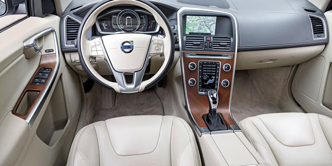 Volvo XC60 D5, Cockpit
