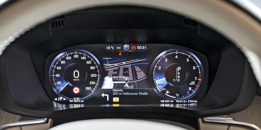 Volvo XC60 T5 AWD Inscription (2017), Interieur