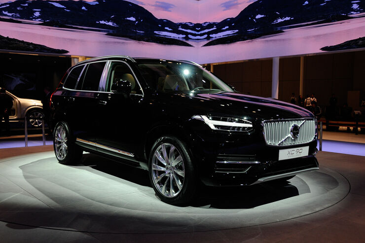volvo xc90 excellence auf der shanghai motor show verschwenderischer luxus f r vier auto. Black Bedroom Furniture Sets. Home Design Ideas