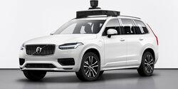 Volvo XC90 Uber autonomes fahren