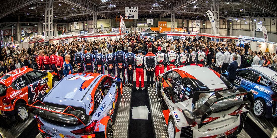 WRC Launch 2019 - Präsentation Birmingham