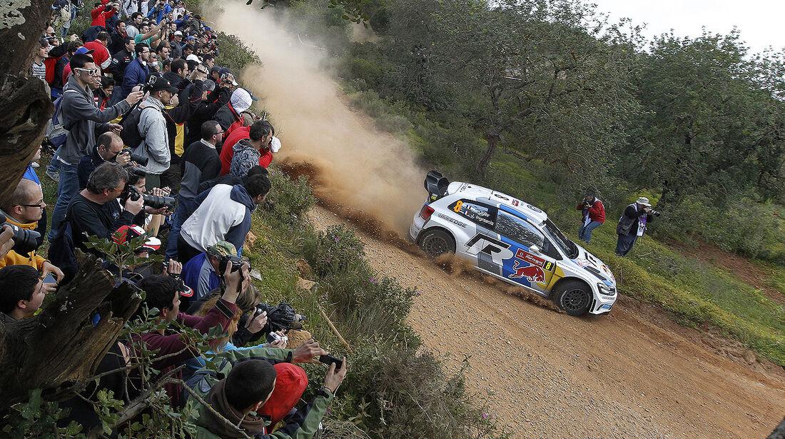 WRC Portugal 2013, Tag 1, Ogier
