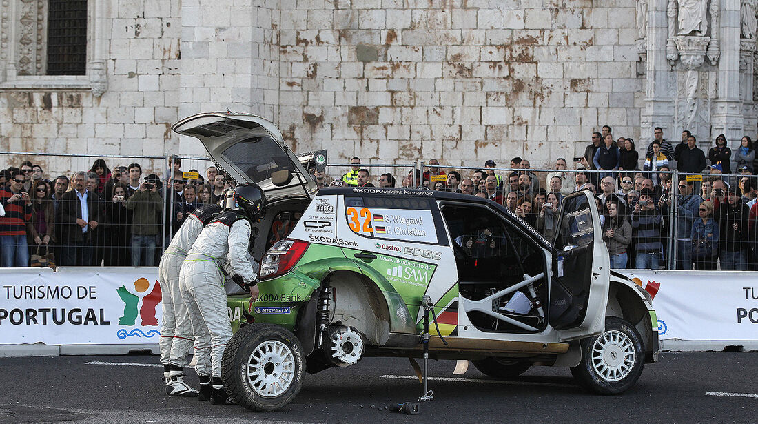 WRC Portugal 2013, Tag 1, Wiegand