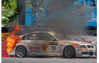 WTCC - BMW in Flammen