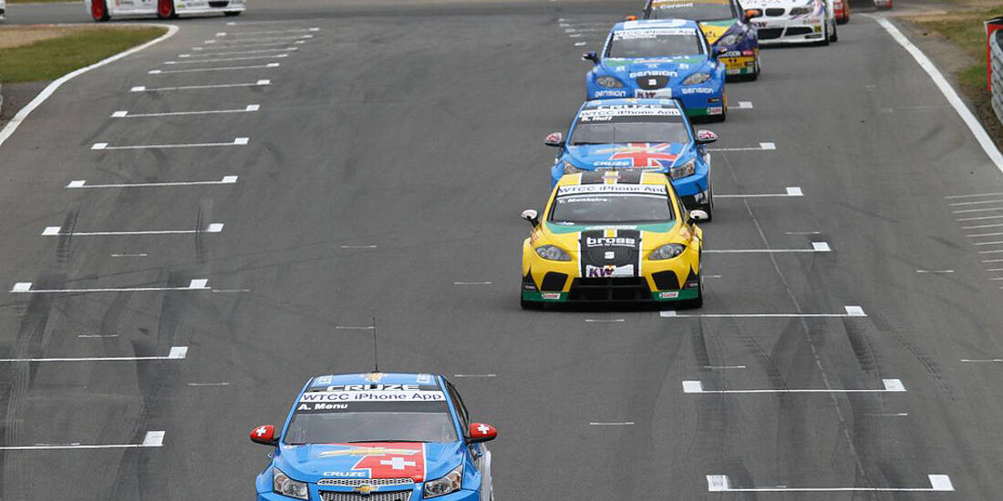WTCC, Tourenwagen WM, Zolder, 2010, Chevrolet Cruze, Alain Menu