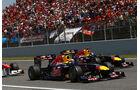 Webber GP Spanien 2011