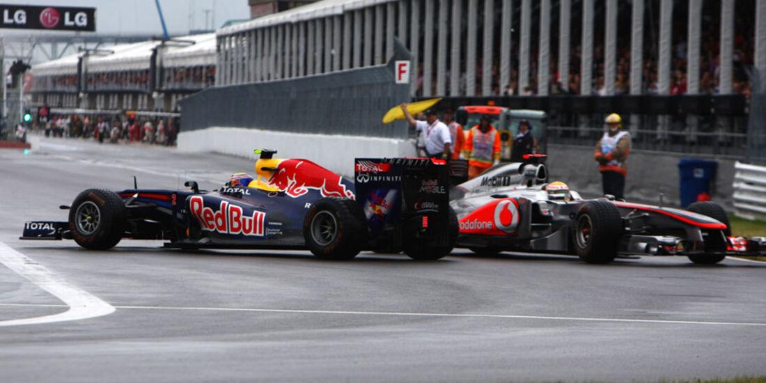 Webber & Hamilton GP Kanada 2011