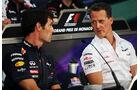 Webber & Schumacher - GP Monaco - 23. Mai 2012