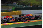 Webber & Vettel - GP Belgien 2012