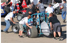 West Coast Sprint Cars, Anschieben