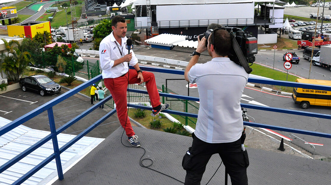 Will Buxton - NBC Presenter - Formel 1 - GP Brasilien - 21. November 2013