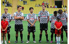Will Stevens - Robertho Merhi - Sergio Perez  - Formel 1 - GP Monaco - Mittwoch - 20. Mai 2015