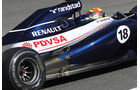 Williams Auspuff Jerez Test 2012