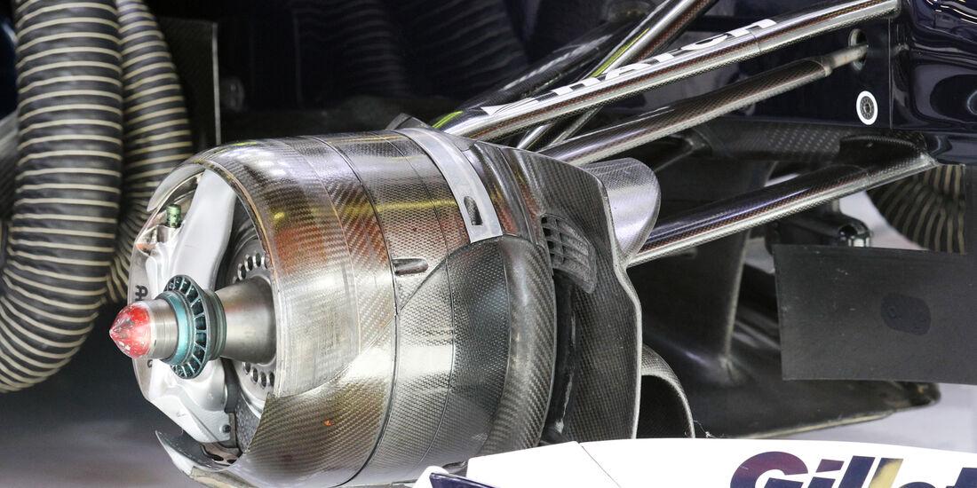 Williams Bremsen 2012
