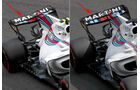 Williams - F1-Technik - Upgrades - GP Belgien / GP Italien 2017