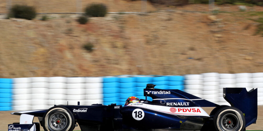 Williams FW34 Formel 1 Jerez 2012