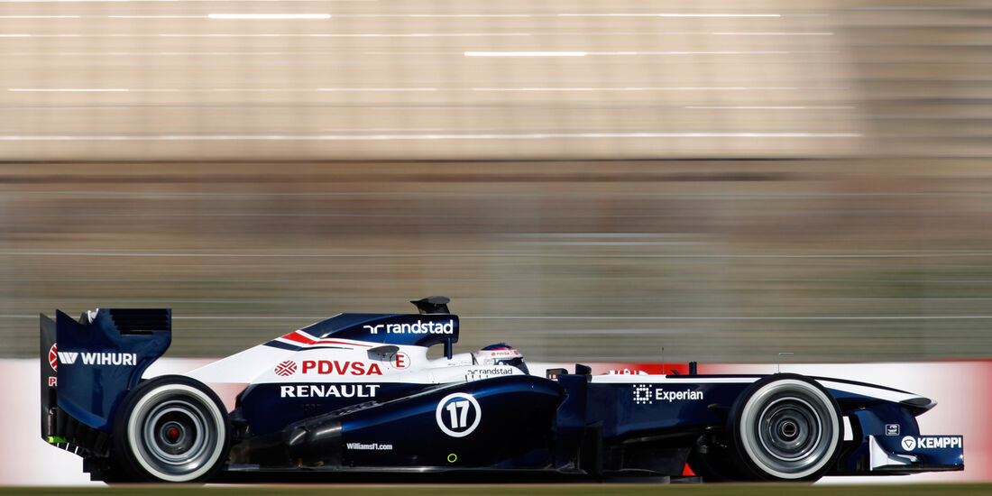 Williams FW35 Test 2013