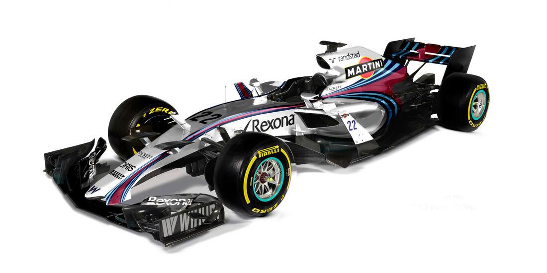 Williams - Formel 1 2017 - Designs - Sean Bull