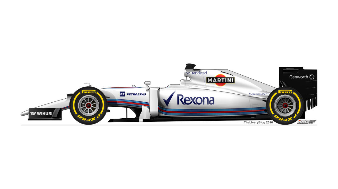 Williams - Formel 1 Design Concepts 2016